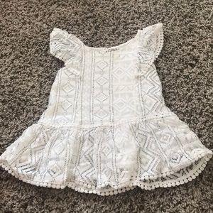 12m BabyGirl White dress